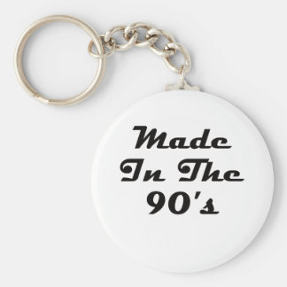 Made In The 90's Keychains