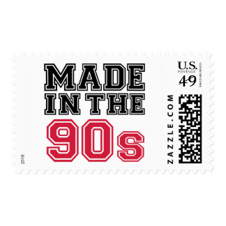 Made in the 90's stamp