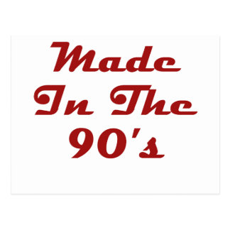 Made In The 90's Postcard