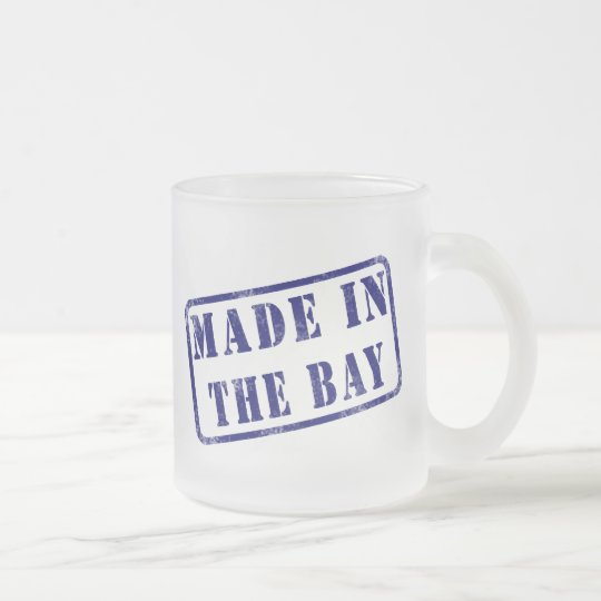 Made in The Bay Frosted Glass Coffee Mug