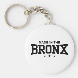 Made in the Bronx Keychain