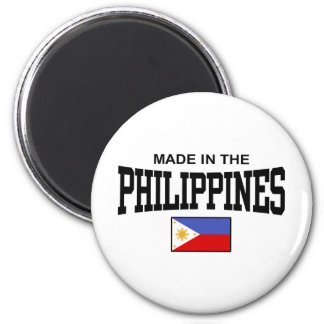 Made In The Philippines 2 Inch Round Magnet