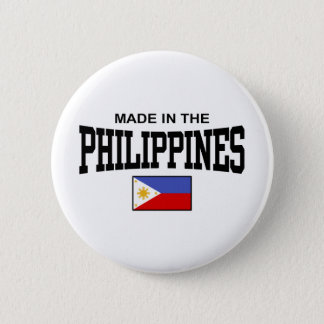 Made In The Philippines Pinback Button