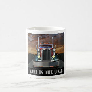 Made in the U.S.A. Custom Peterbilt Coffee Mug