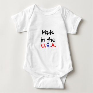 Made in the U.S.A. Infant Baby Bodysuit