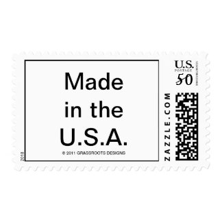 Made in the U.S.A. Postage or Cards