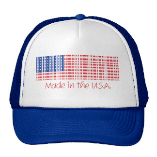 Made in the U.S.A. Trucker Hat