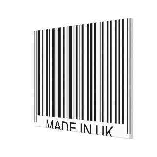 Made in the UK Canvas Print