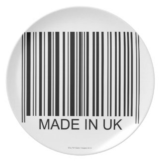 Made in the UK Dinner Plate