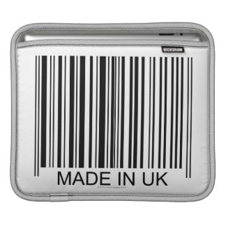 Made in the UK iPad Sleeve