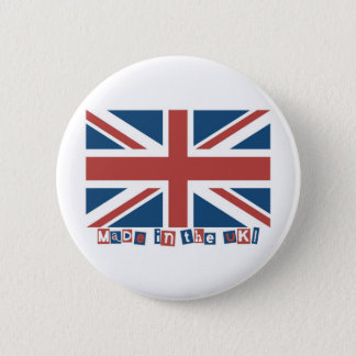 Made in the UK Pinback Button