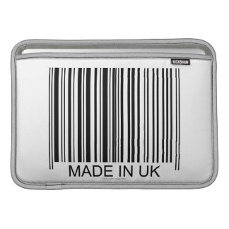 Made in the UK Sleeves For MacBook Air