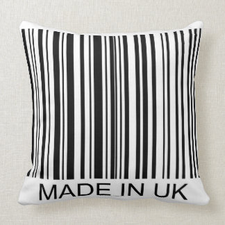 Made in the UK Throw Pillow
