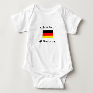 made in the UK with German parts T-shirt