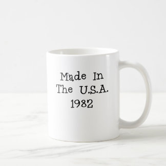 Made in the usa 1982.png classic white coffee mug