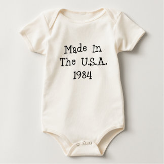 Made in the usa 1984.png baby bodysuit