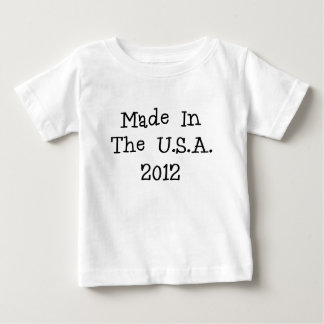 Made in the usa 2012.png baby T-Shirt