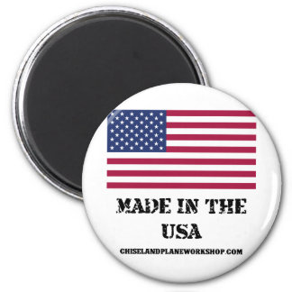 Made In The USA 2 Inch Round Magnet