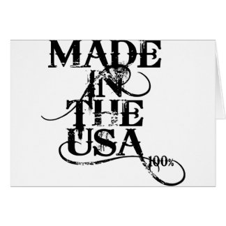 Made In The USA Accessory Card