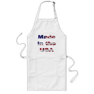 Made in the USA Long Apron
