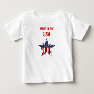 Made In The USA Baby Kids Patriot Stars Baby T-Shirt