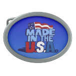 Made In The USA Belt Buckle