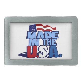 Made In The USA Rectangular Belt Buckle