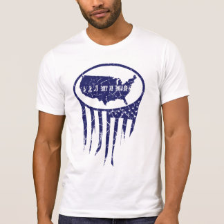 Made in the USA blu T-Shirt