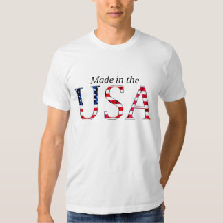 """""""Made in the USA"""" (BRIGHT) Tee Shirts"""