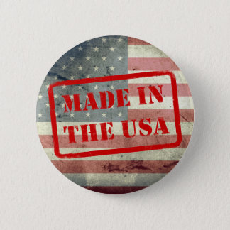 Made in the USA! Button