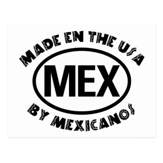 Made In The USA By Mexicano Postcards