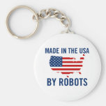 Made in the USA by Robots Key Chains
