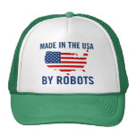 Made in the USA by Robots Trucker Hat