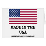 Made In The USA Cards