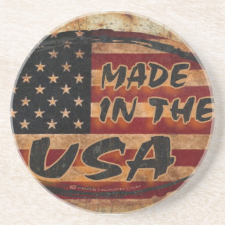 Made in the USA Drink Coaster