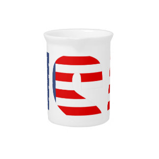 made in the usa drink pitcher