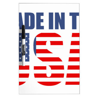 made in the usa dry erase board