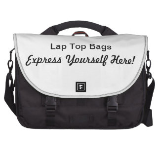 """Made In The USA""  Express Yourself  Lap Top Bags Laptop Messenger Bag"