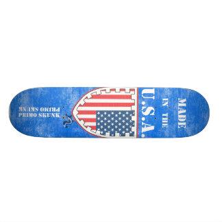 Made In The USA Flag Primo Skunk Skate Board Decks