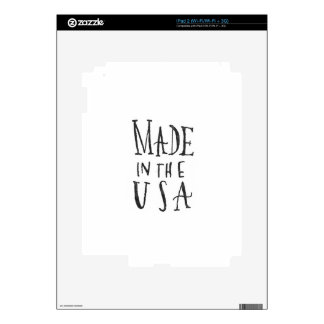 Made in the USA iPad 2 Decal