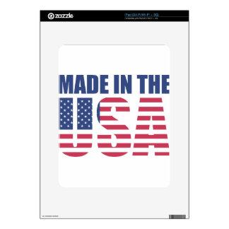 Made In The USA iPad Skin