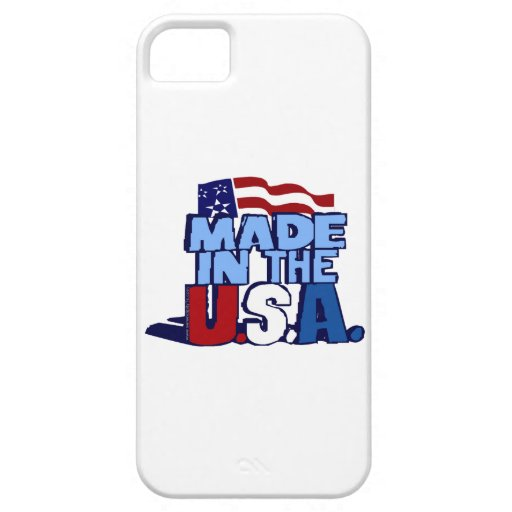 Made In The USA iPhone 5 Cover