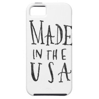Made in the USA iPhone SE/5/5s Case