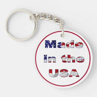 Made in the USA Keychain