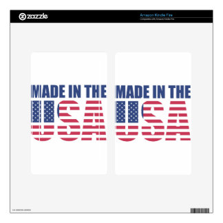 Made In The USA Kindle Fire Skins