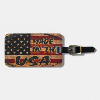 Made in the USA Luggage Tag