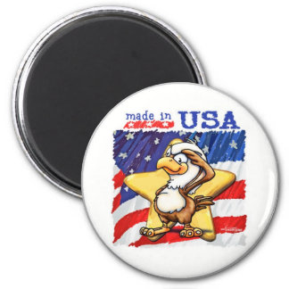 Made in the USA Fridge Magnet