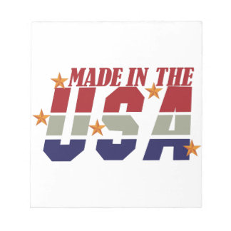 Made in the USA Memo Notepads