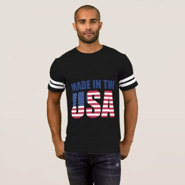 USA Themed Made in the USA Men's Football shirt