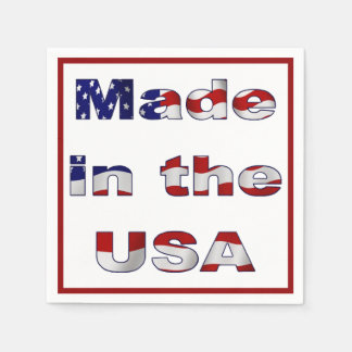 Made in the USA Napkin